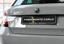 Skoda Fabia - tył