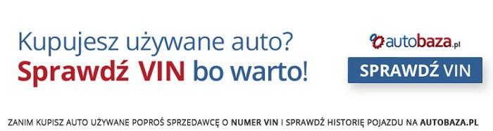 sprawdź VIN na autobaza.pl
