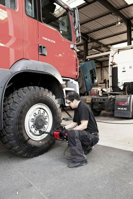 klucz udarowy do ciężarówek